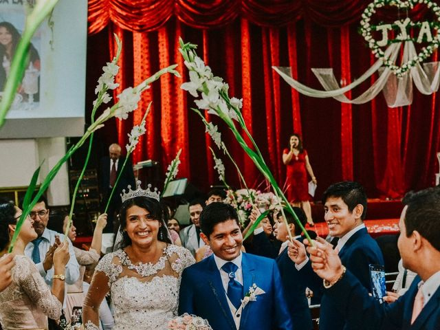 El matrimonio de Josué y Areli en Ate, Lima 20
