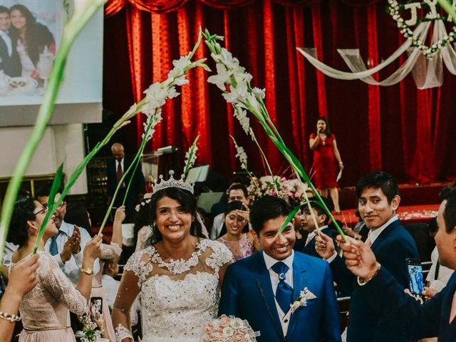 El matrimonio de Josué y Areli en Ate, Lima 21