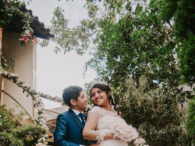 El matrimonio de Josué y Areli en Ate, Lima 24