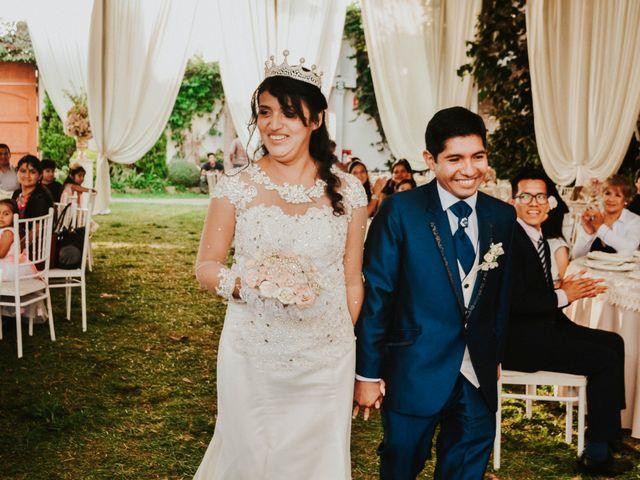 El matrimonio de Josué y Areli en Ate, Lima 25