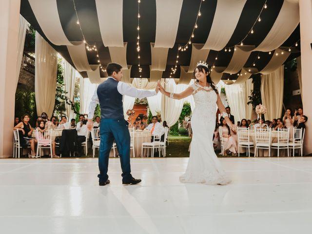 El matrimonio de Josué y Areli en Ate, Lima 28