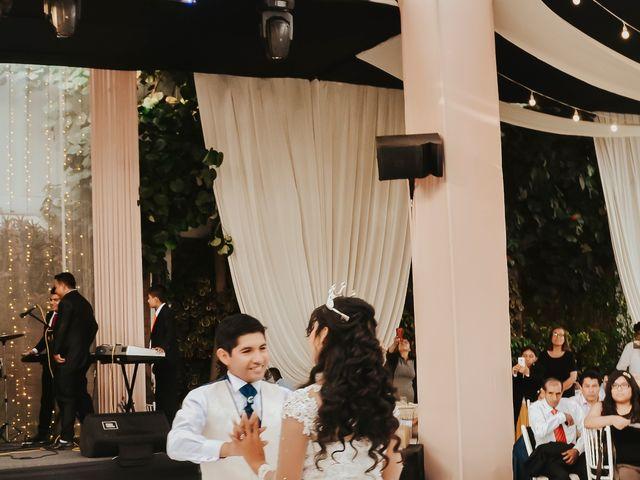 El matrimonio de Josué y Areli en Ate, Lima 30