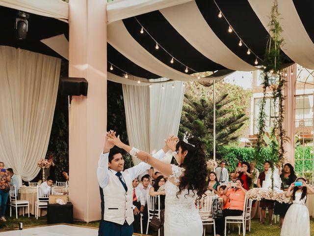El matrimonio de Josué y Areli en Ate, Lima 31