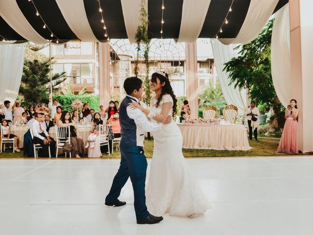 El matrimonio de Josué y Areli en Ate, Lima 32