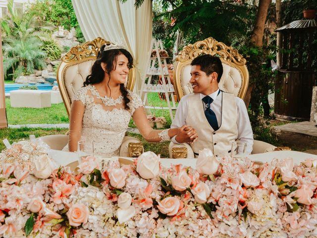 El matrimonio de Josué y Areli en Ate, Lima 33