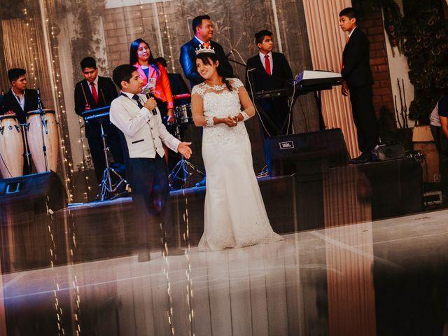 El matrimonio de Josué y Areli en Ate, Lima 35