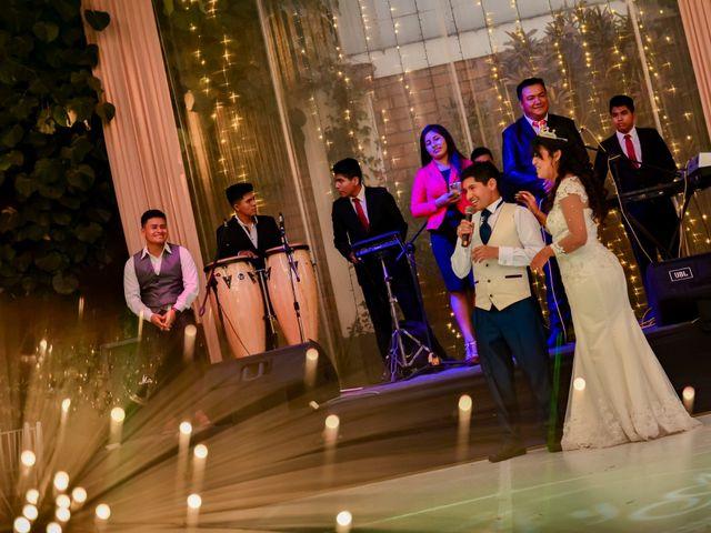El matrimonio de Josué y Areli en Ate, Lima 36