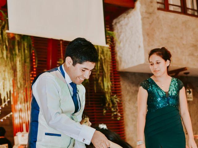 El matrimonio de Josué y Areli en Ate, Lima 39