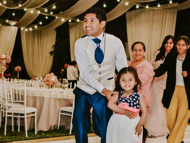 El matrimonio de Josué y Areli en Ate, Lima 40