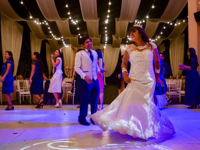 El matrimonio de Josué y Areli en Ate, Lima 43