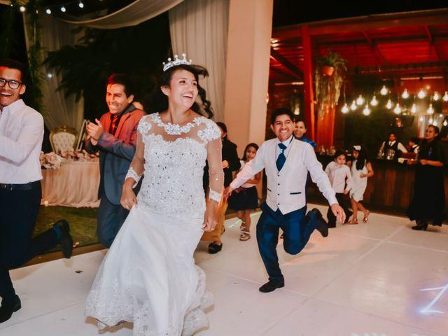 El matrimonio de Josué y Areli en Ate, Lima 45