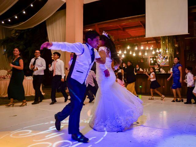 El matrimonio de Josué y Areli en Ate, Lima 47