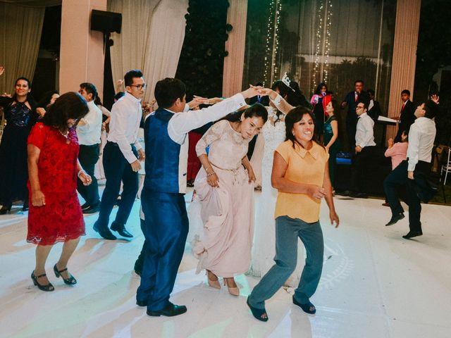 El matrimonio de Josué y Areli en Ate, Lima 48