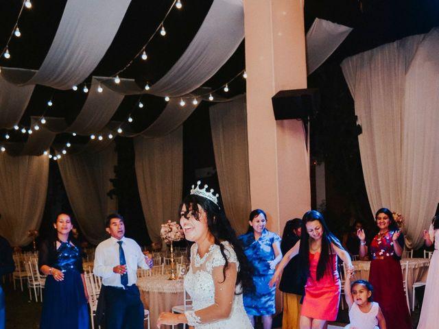 El matrimonio de Josué y Areli en Ate, Lima 50