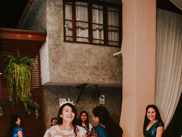 El matrimonio de Josué y Areli en Ate, Lima 54