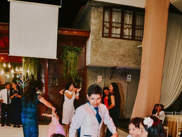 El matrimonio de Josué y Areli en Ate, Lima 55