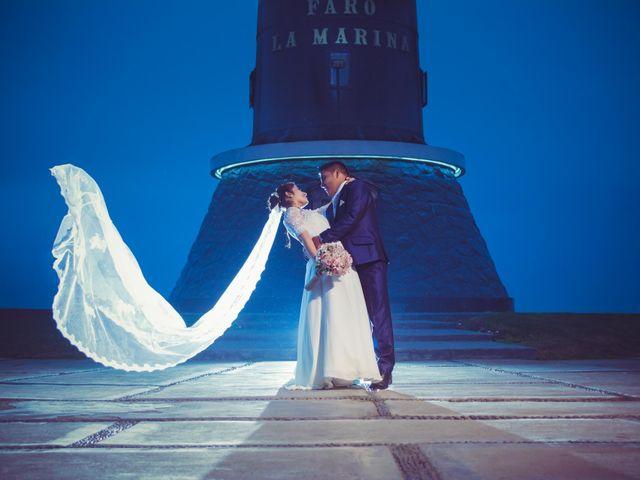 El matrimonio de Sandely y Javi