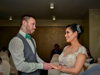El matrimonio de Jandery y Romain 3