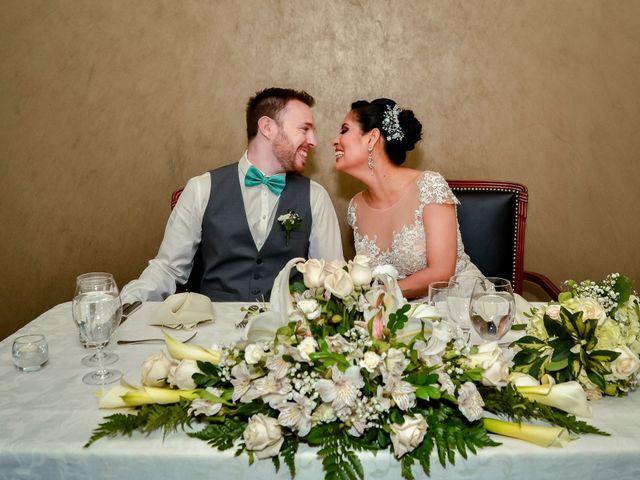 El matrimonio de Jandery y Romain
