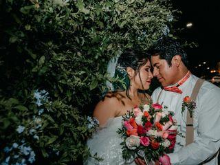 El matrimonio de Yanina y Adderly