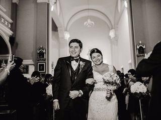 El matrimonio de Elva y Adolfo