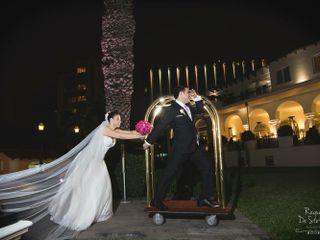 El matrimonio de Sandra y Christian