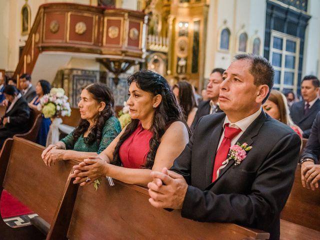 El matrimonio de George y Jessenia en Lima, Lima 67