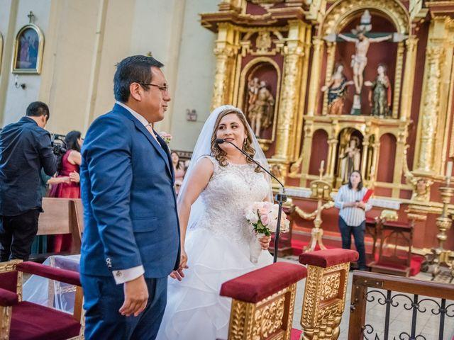 El matrimonio de George y Jessenia en Lima, Lima 69