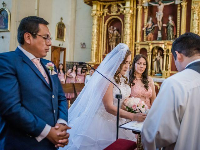 El matrimonio de George y Jessenia en Lima, Lima 71