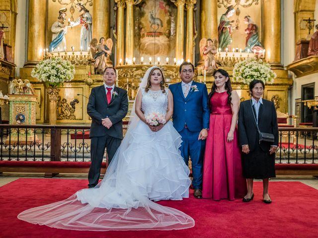 El matrimonio de George y Jessenia en Lima, Lima 76