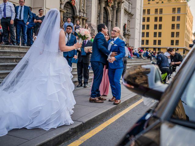 El matrimonio de George y Jessenia en Lima, Lima 81