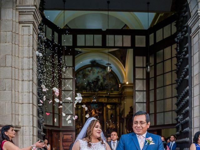 El matrimonio de George y Jessenia en Lima, Lima 84