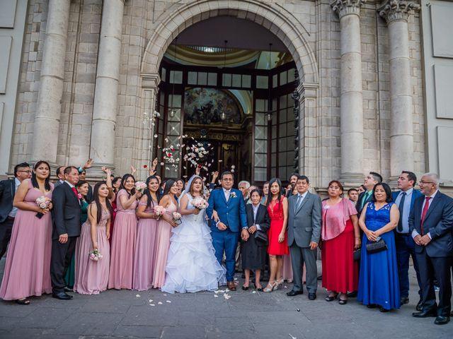 El matrimonio de George y Jessenia en Lima, Lima 85