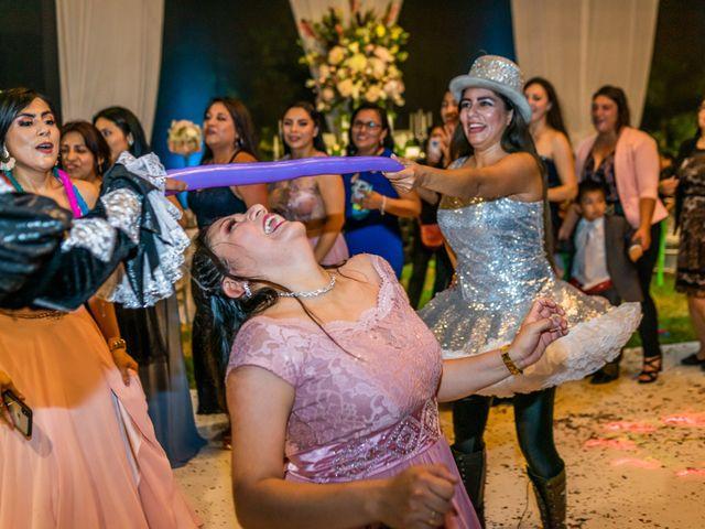 El matrimonio de George y Jessenia en Lima, Lima 130