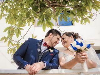El matrimonio de Elizabeth y Roberth