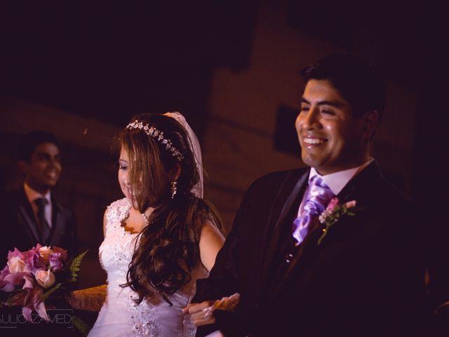 El matrimonio de Barbara y Victor