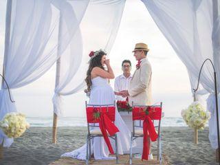 El matrimonio de Rosario y Carlos