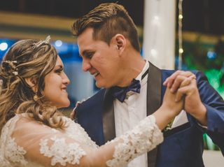 El matrimonio de Rosario y Jhonatan