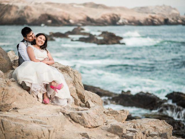 El matrimonio de Marina y Fidel