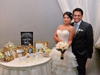 El matrimonio de Belissa y Alonso