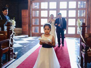 El matrimonio de Rosario y Oscar 1