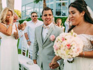 El matrimonio de Nina y Patrick