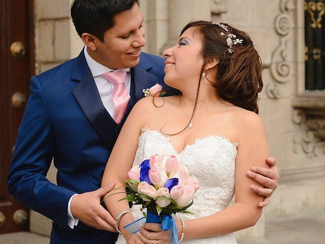 El matrimonio de Rosario y Oscar