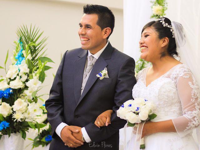 El matrimonio de Gloria y Eduardo