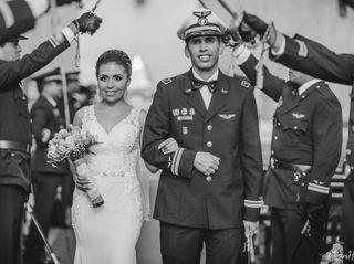 El matrimonio de Andrea y Hans