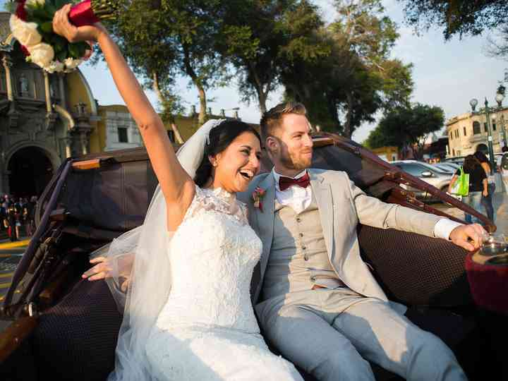 El matrimonio de Vanessa y Mark