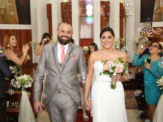 El matrimonio de Angel y Rosario 1
