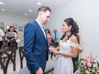 El matrimonio de Eliana y Kevin