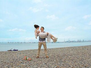 El matrimonio de Antu y Martin