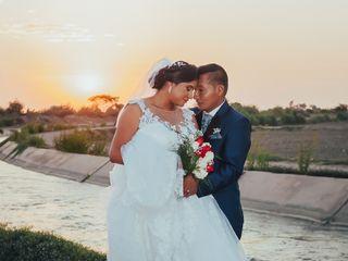 El matrimonio de Milagros y Edwin